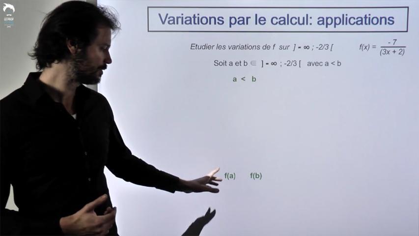 Variations par le calcul : applications
