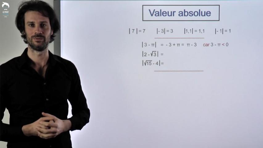 Valeur Absolue : les bases