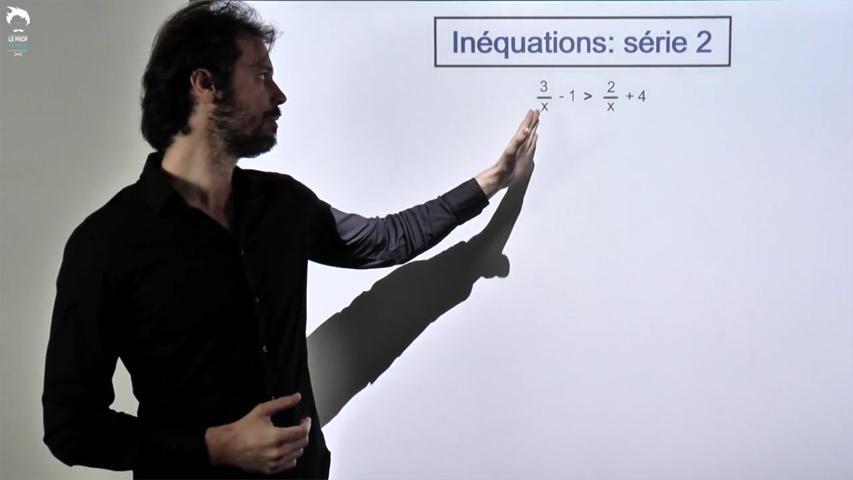 Inéquations: série 2