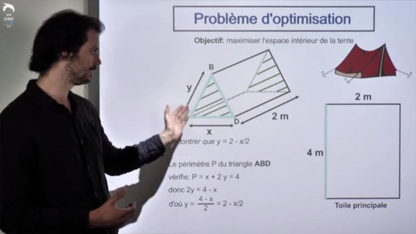 Résolution d'un problème d'optimisation 2/2