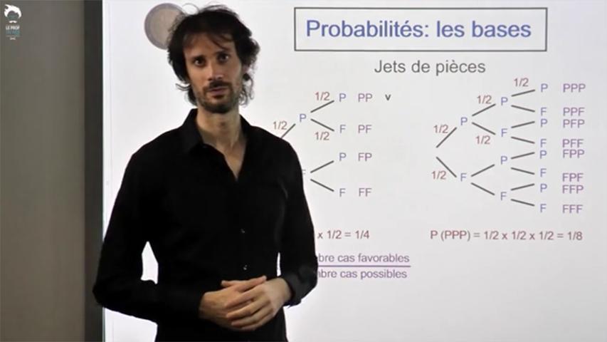 Les bases des probabilités - 2/3