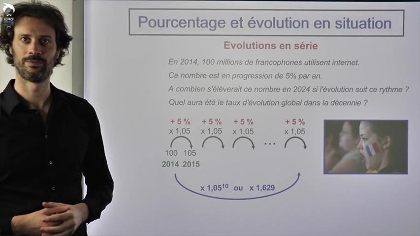Taux d'évolution : affronter toutes les situations !