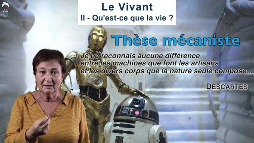 Êtres vivants ou machines ?