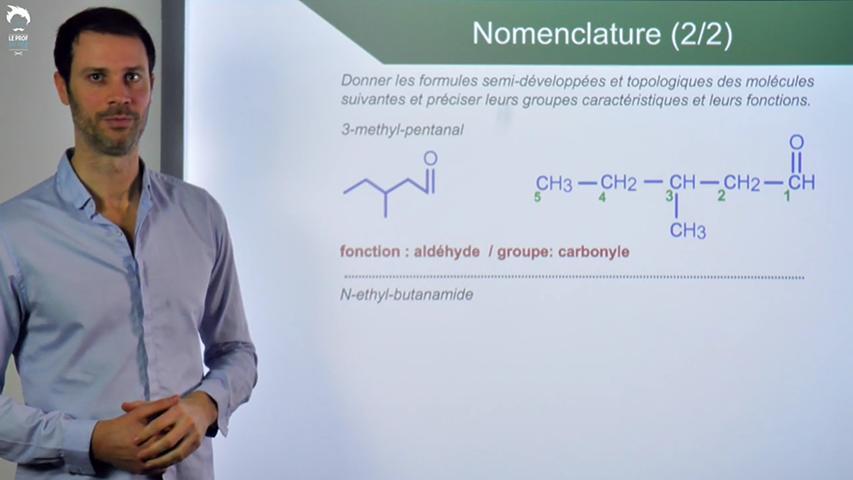 Exercices sur la nomenclature : du nom à la formule
