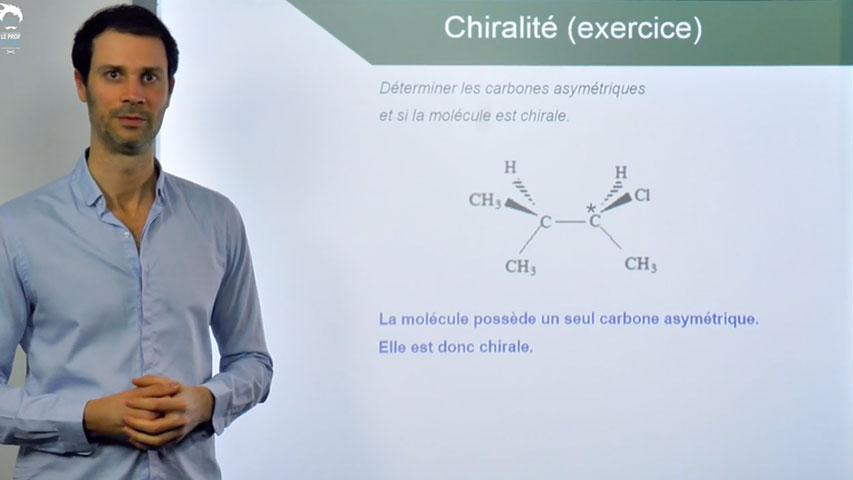 Carbone asymétrique et chiralité