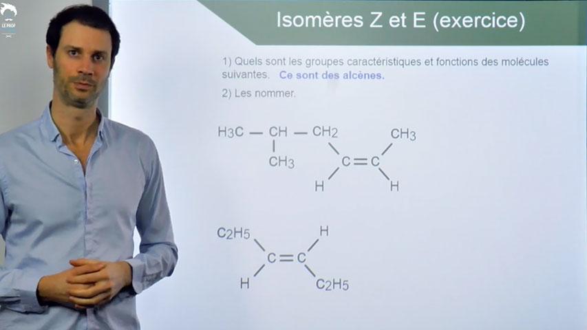 Isomère Z et E