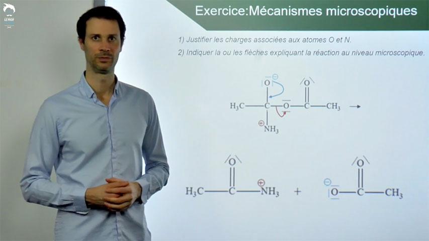 Mécanismes réactionnels