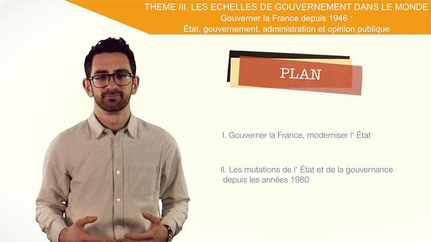 Gouverner la France depuis 1946: État, gouvernement, administration et opinion publique : Introduction