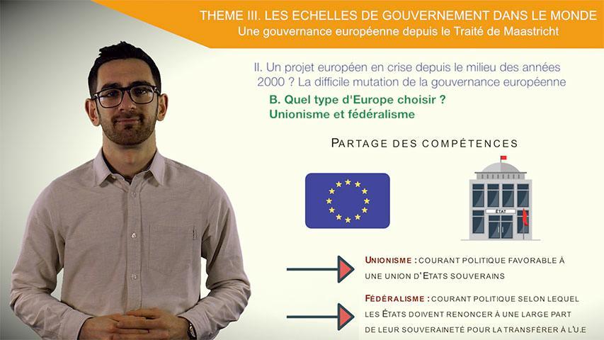 Un projet européen en crise depuis le milieu des années 2000?