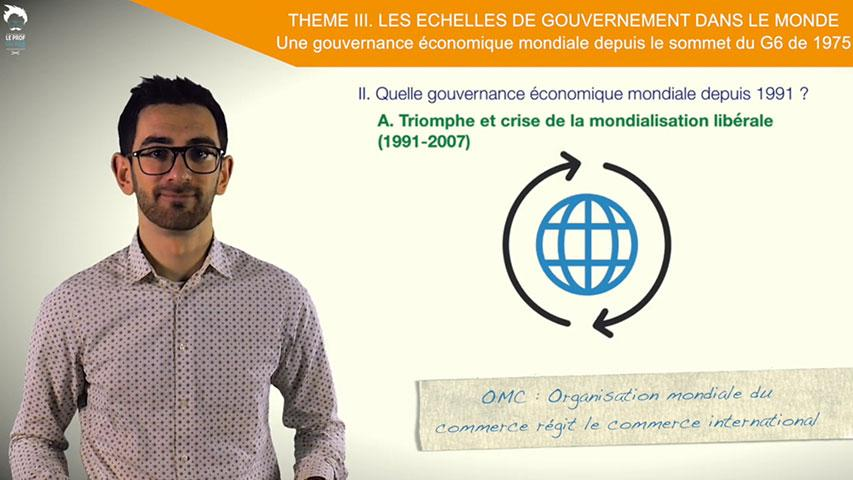 Quelle gouvernance économique mondiale depuis 1991?