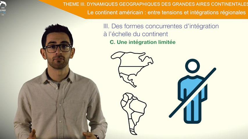 Des formes concurrentes d'intégration à l'échelle du continent américain