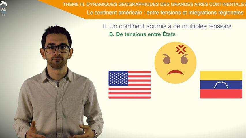 Le continent américain, un continent soumis à de multiples tensions
