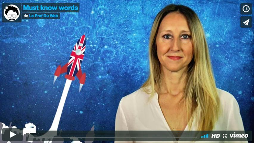 Must know words n°9 : Espaces et échanges