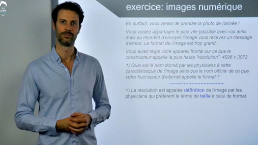 Images numériques : exercice