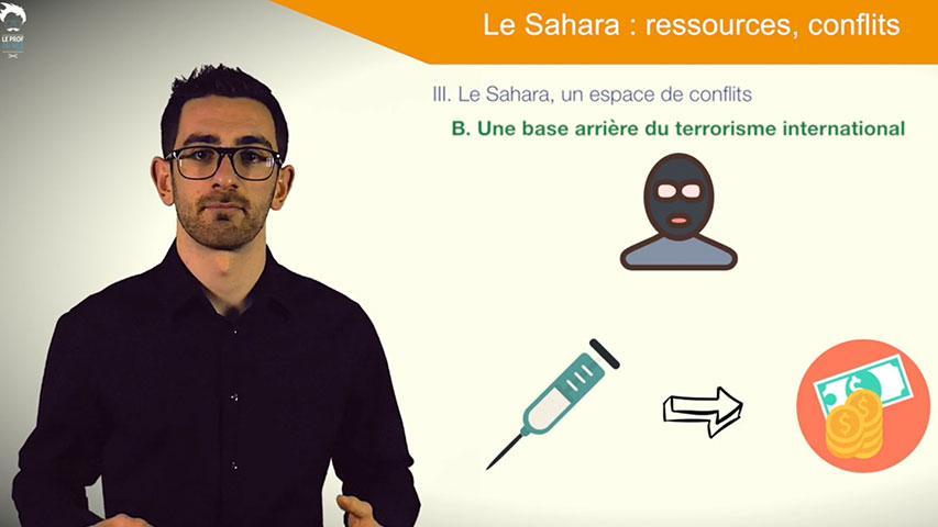 Le Sahara, un espace de conflits