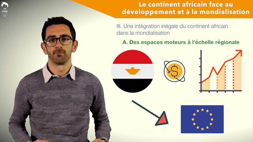 Une intégration inégale du continent africain dans la mondialisation