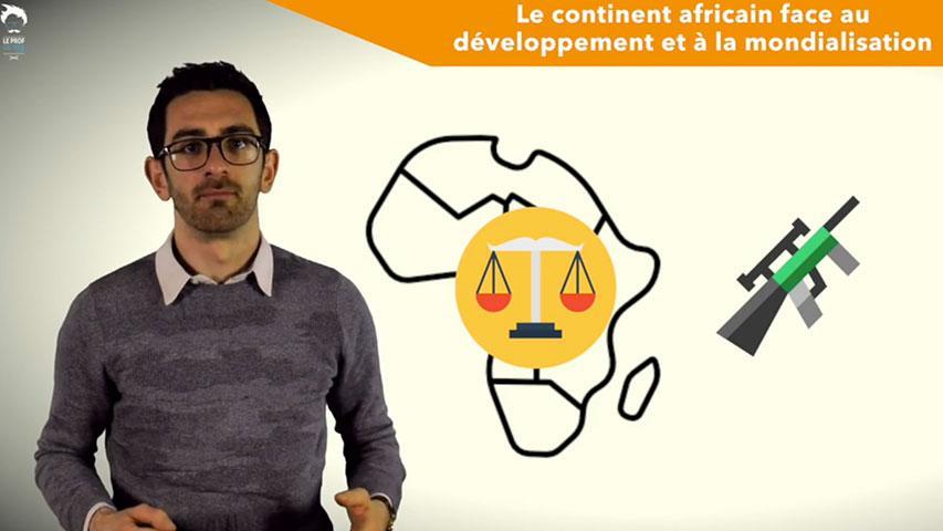 L'Afrique, un continent encore en marge de la mondialisation et souffrant de sous-développement
