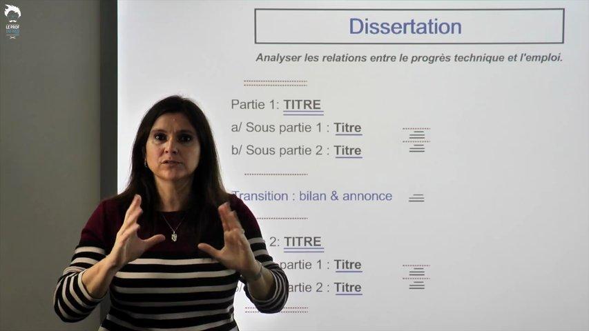 Dissertation methode eco